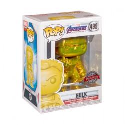 Figurine Pop! Marvel Endgame Hulk Jaune Chrome Edition Limitée Funko Boutique en Ligne Suisse