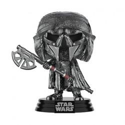 Figurine Pop! Chrome Hematite Star Wars Knight of Ren Long Axe Funko Boutique en Ligne Suisse