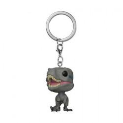 Pop! Pocket Keychains Jurassic World Blue