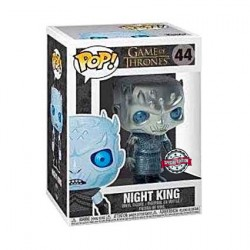 Figurine Pop! Métallique Game of Thrones Night King Edition Limitée Funko Boutique en Ligne Suisse