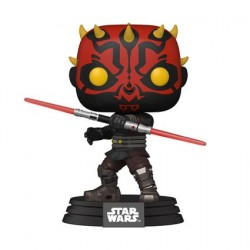 Figurine Pop! Star Wars Clone Wars Darth Maul Funko Boutique en Ligne Suisse
