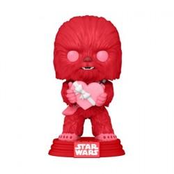 Figurine Pop! Star Wars Valentines Chewbacca avec Coeur Funko Boutique en Ligne Suisse