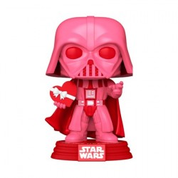 Figurine Pop! Star Wars Valentines Darth Vader avec Coeur Funko Boutique en Ligne Suisse