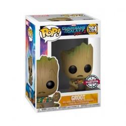 Figurine Pop! Les Gardiens de le Galaxie 2 Groot avec Candy Bowl Edition Limitée Funko Boutique en Ligne Suisse