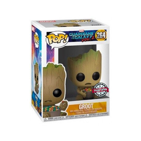 Figur Pop! Guardians Of The Galaxy 2 Groot with Candy Bowl Limited Edition Funko Online Shop Switzerland
