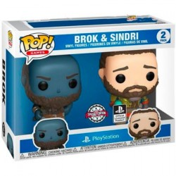 Figurine Pop! Games God of War Broc et Sindri 2-Pack Edition Limitée Funko Boutique en Ligne Suisse