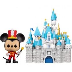 Figurine Pop! Disneyland 65ème Anniversaire Mickey avec Château Funko Boutique en Ligne Suisse