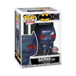 Figurine Pop! Métallique Batman Murder Machine Edition Limitée Funko Boutique en Ligne Suisse