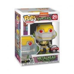 Figurine Pop! Métallique Teenage Mutant Ninja Turtles Metalhead Edition Limitée Funko Boutique en Ligne Suisse