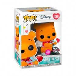 Pop! Flocked Disney Winnie the Pooh Valentines Limited Edition