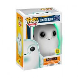 Figurine Pop! Phosphorescent Dr. Who Adipose Edition Limitée Funko Boutique en Ligne Suisse