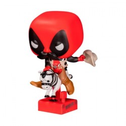 Pop! Marvel Sheriff Deadpool Riding Horsey Limited Edition