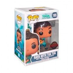 Pop! Disney Raya and the Last Dragon Young Raya with Baby Tuk Tuk Limited Edition