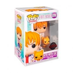 Pop! Fruits Basket Kyo with Cat Limited Edition