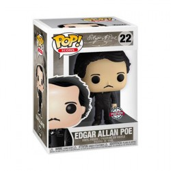Figur Pop! Icons Edgar Allan Poe with Raven Limited Edition Funko Online Shop Switzerland