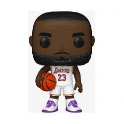 Figurine Pop! Basketball NBA Lakers Lebron James Uniforme Blanc Alternate Funko Boutique en Ligne Suisse