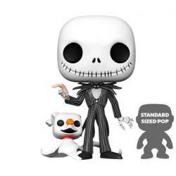 Figurine Pop! 25 cm L'Étrange Noël de Mr Jack Jack avec Zero Funko Boutique en Ligne Suisse