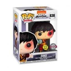 Figur Pop! Glow in the Dark Avatar The Last Airbender Zuko with Lightning Limited Edition Funko Online Shop Switzerland