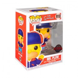 Figurine Pop! Les Simpsons Mr Plow Edition Limitée Funko Boutique en Ligne Suisse
