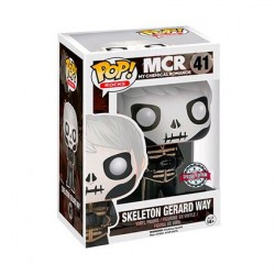 Figur Pop! My Chemical Romance Gerard Way Skeleton Face Limited Edition Funko Online Shop Switzerland
