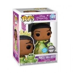 Figurine Pop! Diamond Glitter Disney La Princesse et le Grenouille Tiana et Naveen Edition Limitée Funko Boutique en Ligne Su...