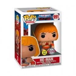 Figurine Pop! Phosphorescent Les Maîtres de l'univers He-Man Edition Limitée Funko Boutique en Ligne Suisse