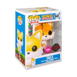 Figur Pop Flocked Sonic the Hedgehog Tails Limited Edition Funko Online Shop Switzerland