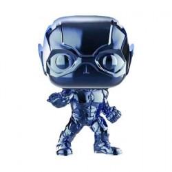 Figurine Pop! Justice League Flash Light Blue Chrome Edition Limitée Funko Boutique en Ligne Suisse