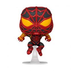 Figurine Pop! Marvel Games Spider-Man Miles Morales S.T.R.I.K.E. Suit Funko Boutique en Ligne Suisse