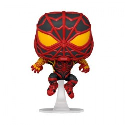 Figur Pop! Marvel Games Spider-Man Miles Morales S.T.R.I.K.E. Suit Funko Online Shop Switzerland