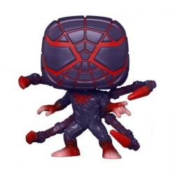 Figur Pop! Marvel Games Spider-Man Miles Morales Programmable Matter Suit Funko Online Shop Switzerland