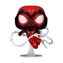 Figur Pop! Marvel Games Spider-Man Miles Morales Crimson Cowl Suit Funko Online Shop Switzerland