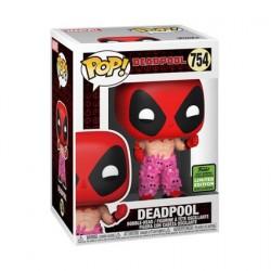 Figurine Pop! ECCC 2021 Marvel Deadpool avec Teddy Belt Edition Limitée Funko Boutique en Ligne Suisse