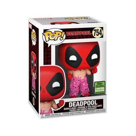 Figur Pop! ECCC 2021 Marvel Deadpool with Teddy Belt Limited Edition Funko Online Shop Switzerland