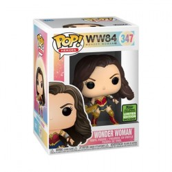 Figur Pop! ECCC 2021 DC Comics Wonder Woman with Tiara Boomerang Limited Edition Funko Online Shop Switzerland