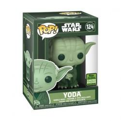 Figuren Pop! ECCC 2021 Star Wars Yoda Grün Limitierte Auflage Funko Online Shop Schweiz