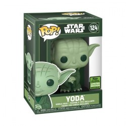 Pop! ECCC 2021Star Wars Yoda Green Limited Edition