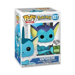 Pop! ECCC 2021 Diamond Pokemon Vaporeon Limited Edition
