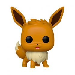 Figurine Pop! Pokemon Evoli Debout (Rare) Funko Boutique en Ligne Suisse