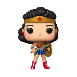 Pop! DC Comics Wonder Woman 80th Anniversary with Shield and Sword (1950's)