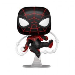 Pop! Marvel Games Spider-Man Miles Morales Advanced Tech Suit