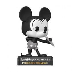 Figurine Pop! Disney Archives Plane Crazy Mickey Funko Boutique en Ligne Suisse