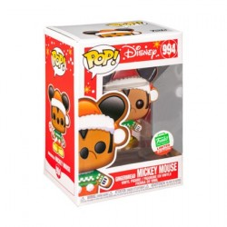 Figurine Pop! Disney Mickey Mouse Gingerbread Mickey Mouse Edition Limitée Funko Boutique en Ligne Suisse