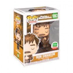 Figurine Pop! TV Parks et Recreation Ron Swanson Snake Juice Edition Limitée Funko Boutique en Ligne Suisse