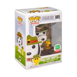 Pop! Peanuts Beagle Scout Snoopy with Woodstock Limited Edition
