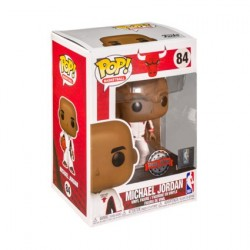 Figurine Pop! NBA Basketball Michael Jordan Chicago Bulls White Warm-Up Suit Edition Limitée Funko Boutique en Ligne Suisse