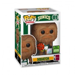 Pop! ECCC 2021 NBA Mascots Sonic Squatch Limited Edition
