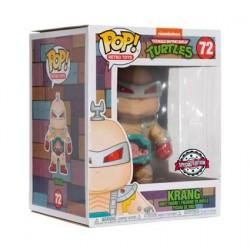 Figurine Pop! 15 cm Teenage Mutant Ninja Turtles Krang Edition Limitée Funko Boutique en Ligne Suisse