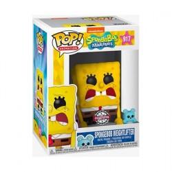 Figurine Pop! Bob L'Éponge SpongeBob Weightlifter Edition Limitée Funko Boutique en Ligne Suisse