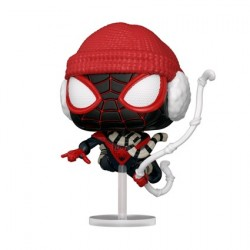 Pop! Pop Marvel Games Spider-Man Miles Morales Winter Suit